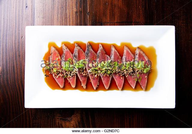 Tuna tataki - Stock-Bilder