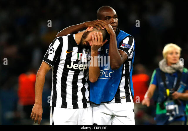 Berlin (Germany). 06 June 2015. Football / Soccer: Uefa Champions League - Final Juventus vs Barcellona  in Olympic - Stock-Bilder