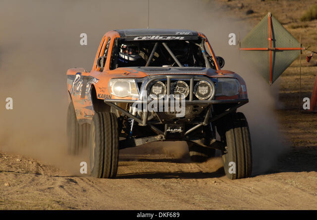 Jun 06, 2009 - Valle de la Trinidad, Baja Norte, Mexico - AARON CELICEO, 2nd place finisher of Class 7 (Open, production - Stock Image