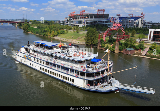General Jackson Riverboat, Nashville, Tennessee, United States of America, North America - Stock Image