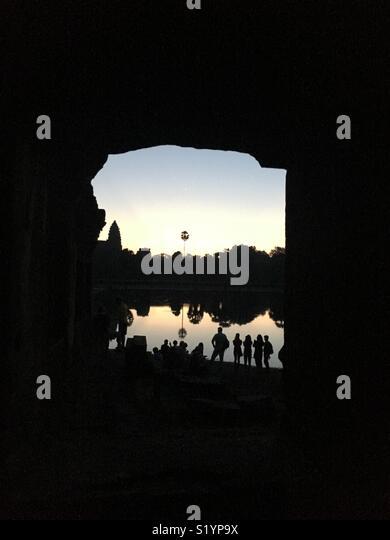 Angkor wat - Stock Image