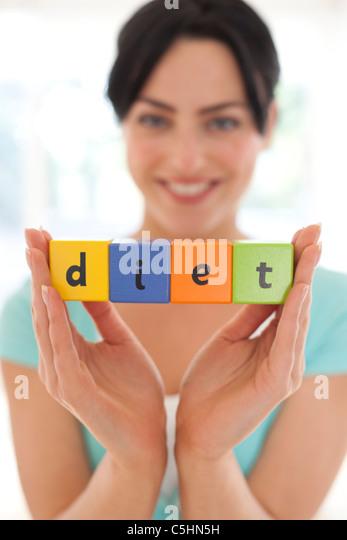 Dieting, conceptual image - Stock-Bilder