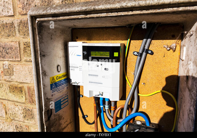 Electric Meter Technology : Smart meter stock photos images alamy