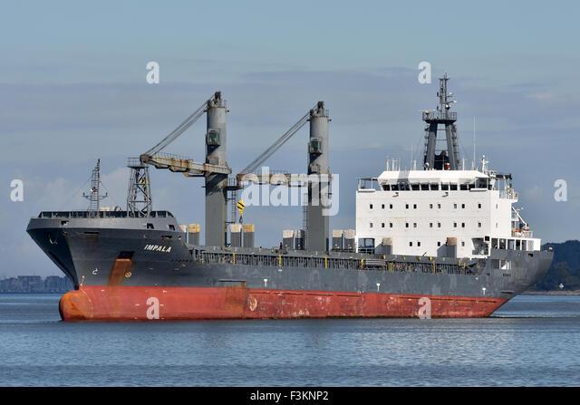 General Cargo Vessel Impala - Stock Image
