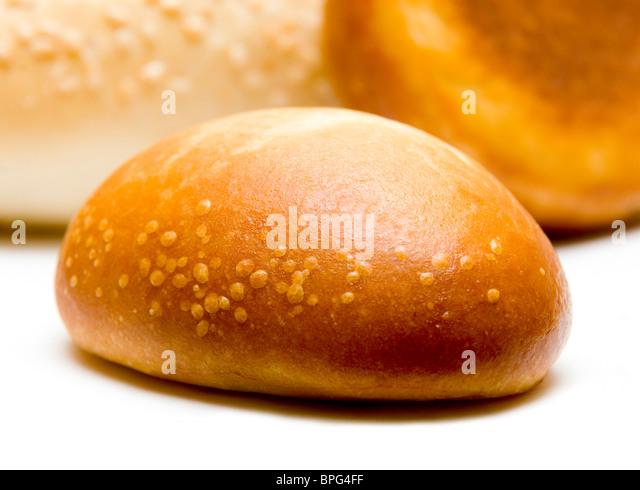 fresh golden crispy delicious patties - Stock Image