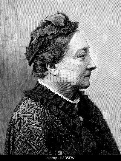 Princess Louise of Saxe-Gotha-Altenburg, Louise Dorothea Pauline Charlotte Fredericka Auguste; 21 December 1800 - Stock Image