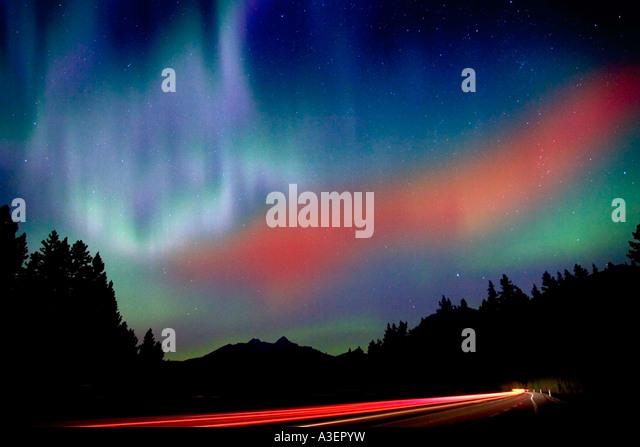 Northern lights - Stock Image