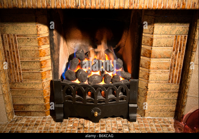 coal fire grate fireplace stock photos coal fire grate