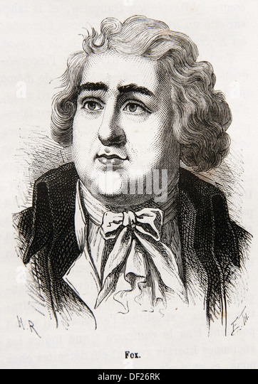 Charles James Fox PC 24 January 1749 - 13 September 1806, styled The Honourable from 1762, was a prominent British - Stock Image
