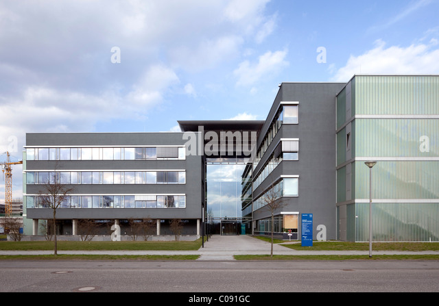 Centre for Sustainable Technologies, Adlershof Science City, Berlin, Germany, Europe - Stock Image