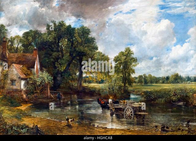 John Constable The Haywain John Constable Paintin...