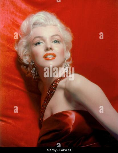 Marilyn Monroe / How to Marry a Millionaire 1953 directed by Jean Negulesco - Stock Image