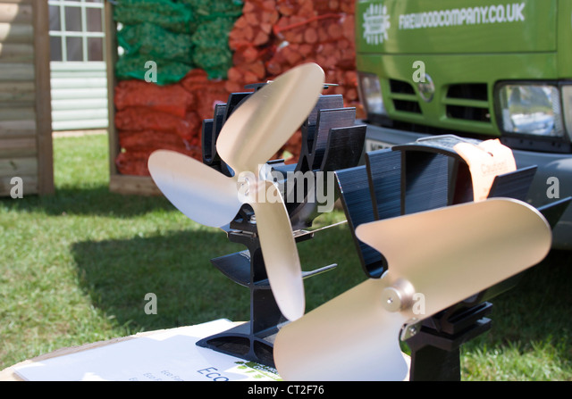 Environmentally friendly thermal fans - Stock Image