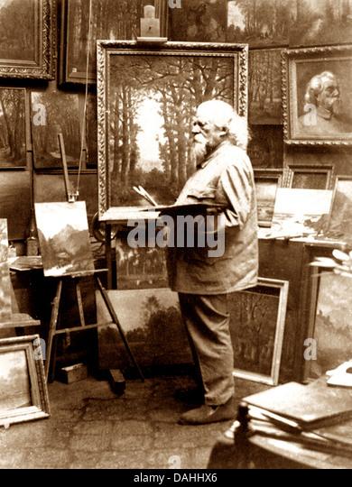Victorian Artist - Stock Image