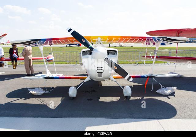 Sport aircraft Christen Eagle II - Stock-Bilder