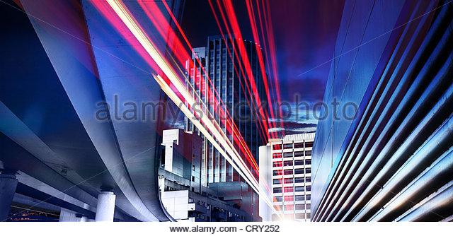 city speed - Stock Image