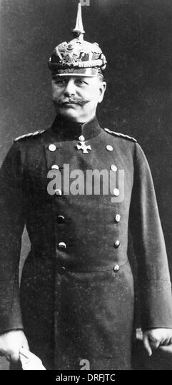German officer of World War One - Stock-Bilder