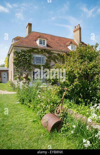 Charleston Farmhouse, East Sussex, Bloomsbury group - Stock Image