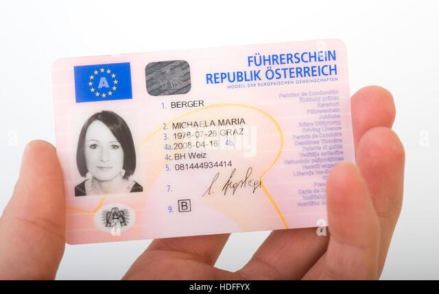 Austria drivers License