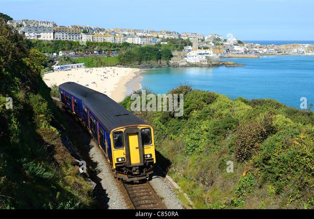 Rail Cornwall Stock Photos Amp Rail Cornwall Stock Images