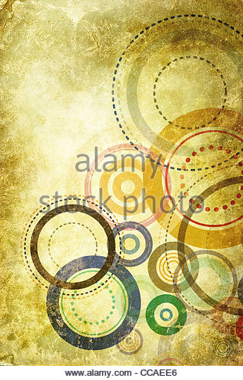 abstract circle texture - Stock Image