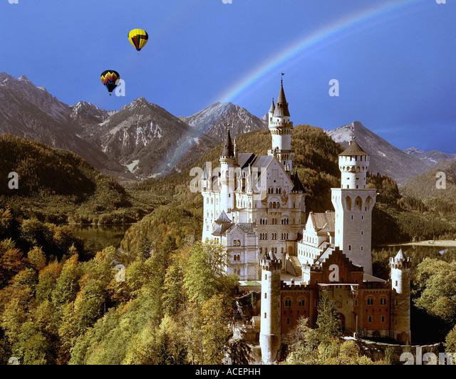 DE - BAVARIA:  Neuschwanstein Castle - Stock-Bilder