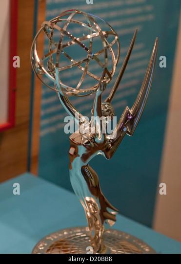 Emmy Award trophy - Stock-Bilder