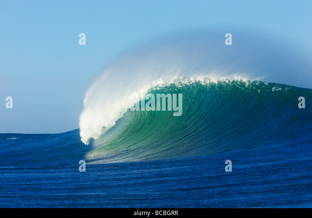 Breaking wave - Stock-Bilder