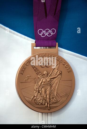 Bronze medal, London 2012 Olympics - Stock Image
