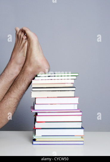 literature,learning,studies,stacking books - Stock Image