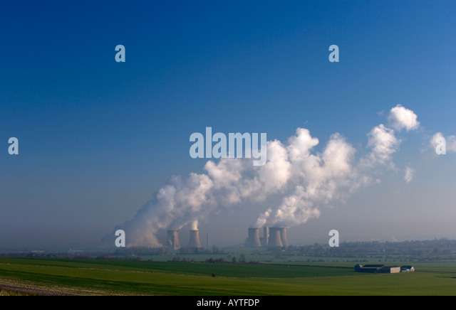 Coal fired power station,didcot, oxfordshire,england - Stock Image
