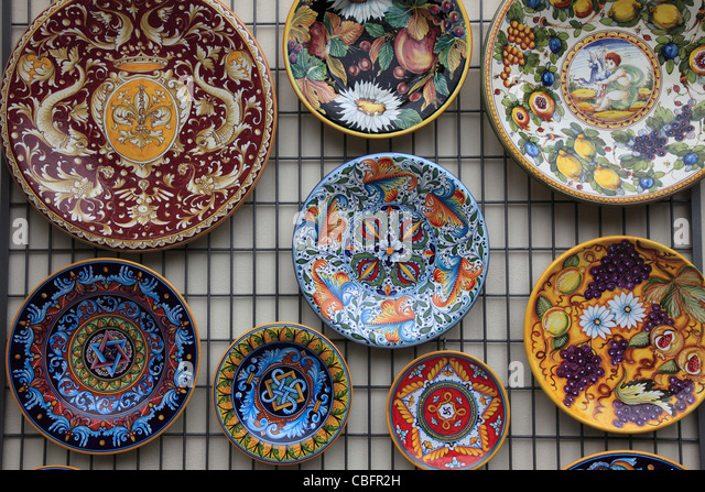 Ceramics Amalfi Italy Stock Photos Amp Ceramics Amalfi Italy