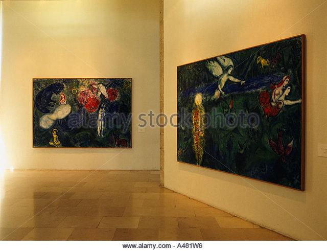 Nice France Museum Chagall Stock Photos & Nice France ... Chagall Museum Nice