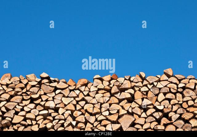 Stack of wood - Stock-Bilder