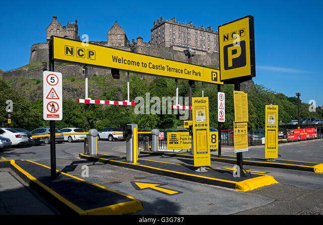 Car Parks Edinburgh Castle