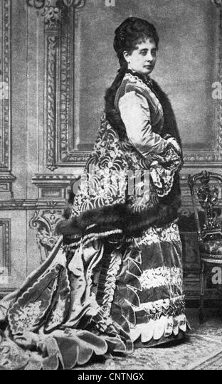 Lucca, Pauline, 25.4.1841 - 28.2.1908, Austrian opera singer, full length, female, woman, - Stock Image