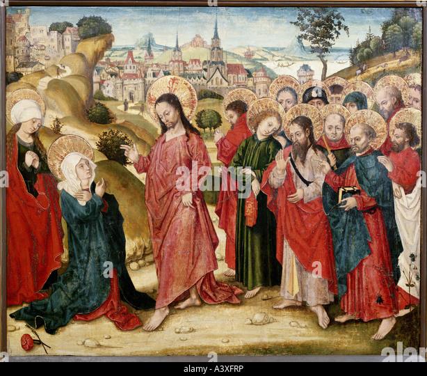 Religious Art: Jesus Christ Painting Stock Photos & Jesus Christ Painting
