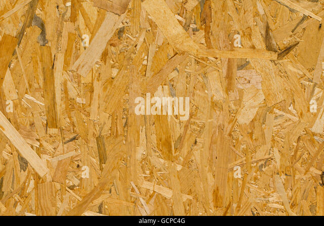 Pressed wood texture - Stock Image