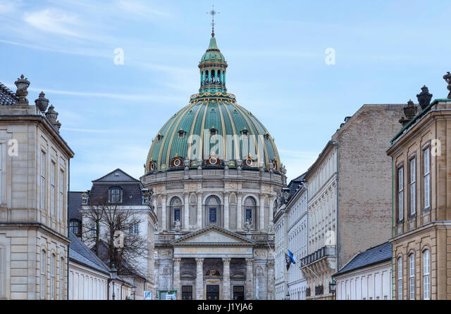 Frederik's Church, Copenhagen, Denmark, Scandinavia - Stock-Bilder