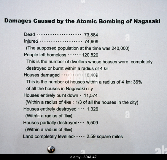 the background of the atomic bombing during the second world war On aug 9, 1945, three days after the bombing of hiroshima, the united states dropped a second atomic bomb on the city of nagasaki the new york times article reported that the dropping of the bomb occurred at noon, japanese time.