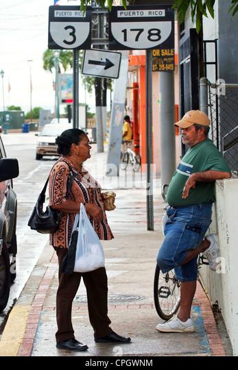 PUERTO RICO  Caribbean island ARROY0 - Stock Image
