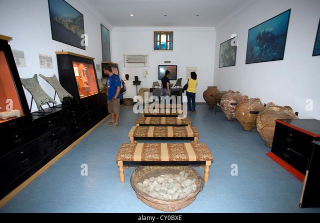 Exhibition Room D : Uluburun stock photos images alamy