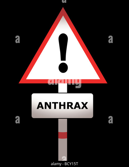 anthrax - Stock Image