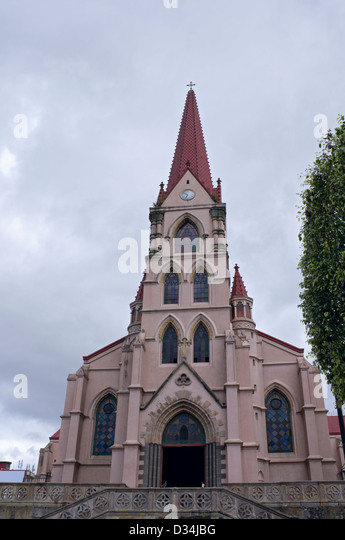 Church of Our Lady of Mercy in downtown San Jose Costa Rica - Stock Image