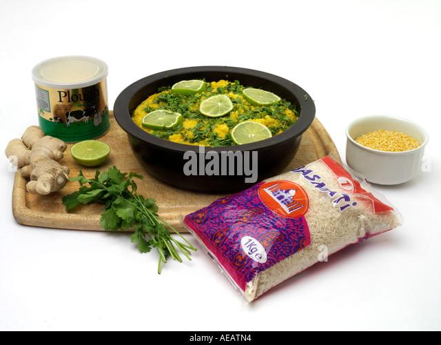 Mung beans rice stock photos mung beans rice stock for Ayurvedic cuisine