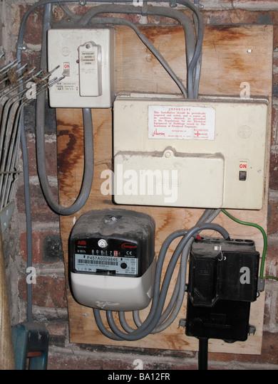 Electric Meter Uk Stock Photos Amp Electric Meter Uk Stock