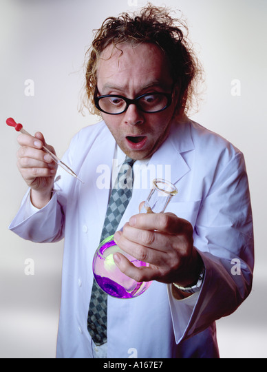 Scientific discovery - Stock Image