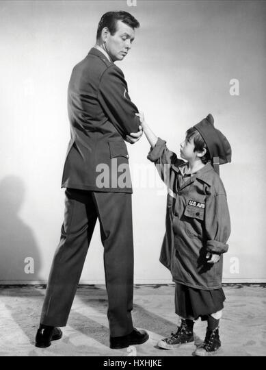 DAVID JANSSEN & DAVID KORY DONDI (1961) - Stock Image