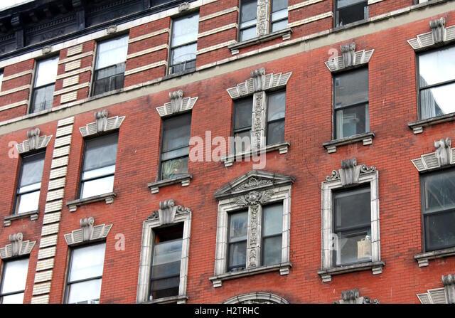 Tall Brick Apartment Building Tall Building Brick St..