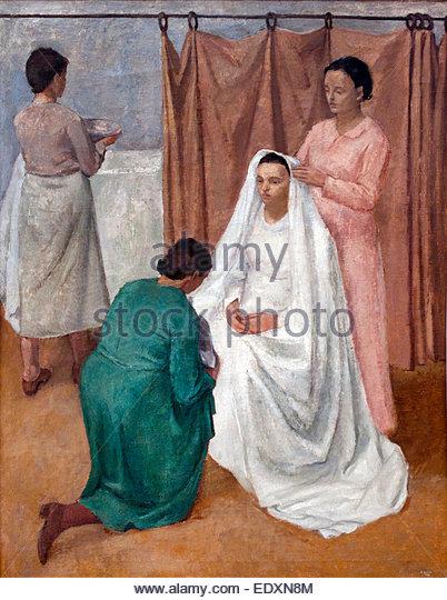 The bride - La sposa 1934 EMANUELE Cavalli 1904-1981 Italy Italian - Stock Image